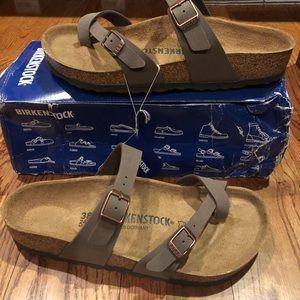 Birkenstock Mayari Mocca sz 7 medium new